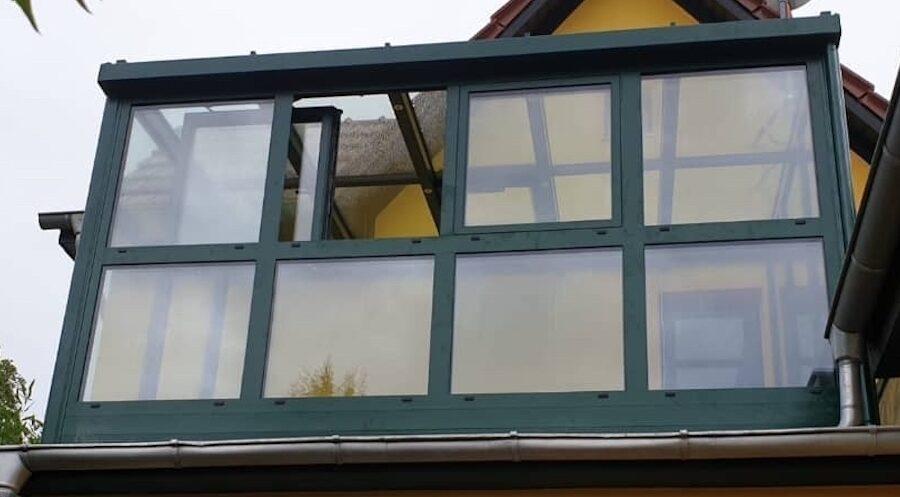 Balkon-Wintergarten - so kann man den Balkon 365 Tage im Jahr benutzen