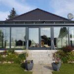 Alu-Wintergarten vergrößert die Wohnfläche